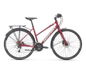 nishiki-401-kvinnor-hybridcykel-27-vaxlad-mattrod-vit-2021